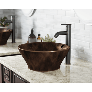 "Polaris 15"" Bronze Vessel Sink - P559 - Manor House Sinks"