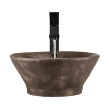 "Load image into Gallery viewer, Polaris 15"" Bronze Vessel Sink - P559 - Manor House Sinks"