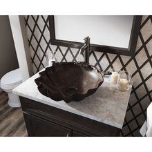 "Load image into Gallery viewer, Polaris 18"" Vessel Bronze Oval Bathroom Sink - P259 - Manor House Sinks"