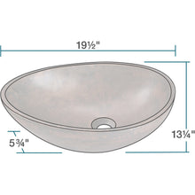 "Load image into Gallery viewer, Polaris 19"" Bronze Vessel Sink - P659 - Manor House Sinks"