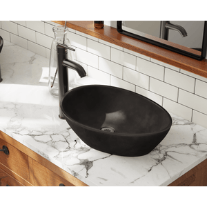 "Polaris 19"" Bronze Vessel Sink - P659 - Manor House Sinks"