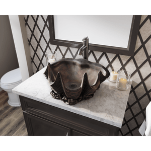 "Polaris 19"" Bronze Vessel Sink - P959 - Manor House Sinks"