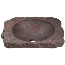 "Load image into Gallery viewer, Polaris 23"" Bronze Drop-In Sink - P069 - Manor House Sinks"
