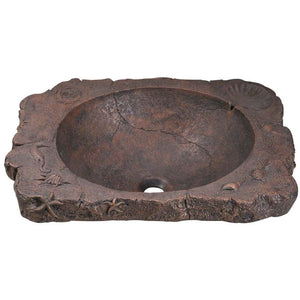"Polaris 23"" Bronze Drop-In Sink - P069 - Manor House Sinks"