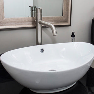 Nantucket Oblong White Vessel Sink - NSV305 - Manor House Sinks