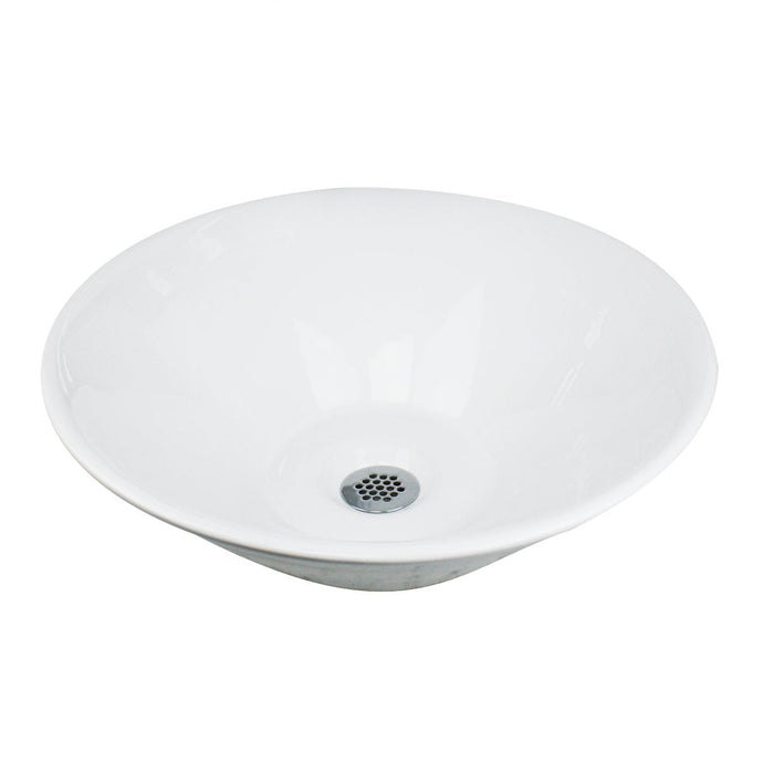 Nantucket Round Low-Profile  Vessel Sink - NSV222 - Manor House Sinks