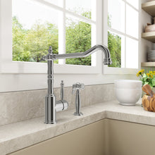 Load image into Gallery viewer, BOCCHI LESINA Kitchen Faucet With Side Spray, Polished Chrome - 2001 0001 - Manor House Sinks
