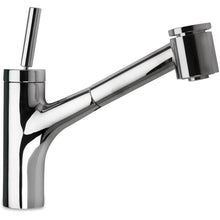 Load image into Gallery viewer, LATOSCANA Elba Single Handle Joystick Pull-Out Kitchen Faucet With 2 Function Sprayer (Stream/Spray), Chrome - 78CR576JO - Manor House Sinks