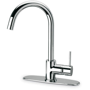 LATOSCANA Elba Single Handle Pull-Out Kitchen Faucet, Stream Only, Chrome - 78CR591 - Manor House Sinks