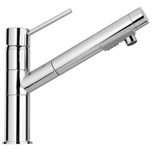 Load image into Gallery viewer, LATOSCANA Elba Single Handle Pull-Out Spray Kitchen Faucet, Chrome - 78CR568 - Manor House Sinks