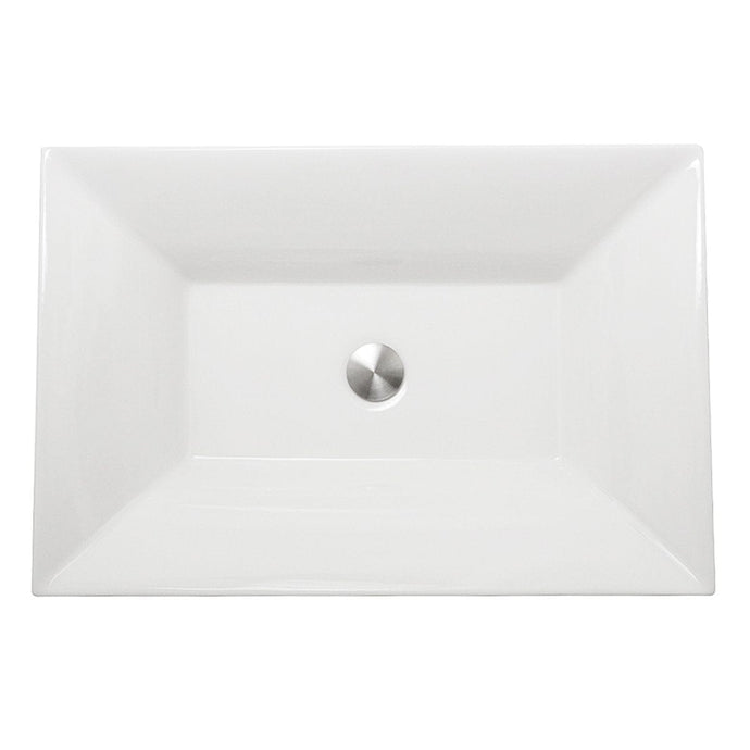 Nantucket Cannes Italian Fireclay Vanity Sink - RC73040W - Manor House Sinks