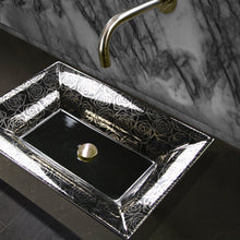 Load image into Gallery viewer, Nantucket Porto Cervo Italian Fireclay Vanity Sink - RC73040PR - Manor House Sinks