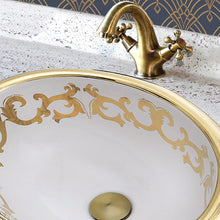 Load image into Gallery viewer, Nantucket Sanremo Italian Fireclay Vanity Sink - RC73240GS - Manor House Sinks