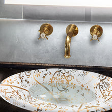 Load image into Gallery viewer, Nantucket St John Italian Fireclay Vanity Sink - RC70640GS - Manor House Sinks