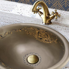 Load image into Gallery viewer, Nantucket St. Louis Italian Fireclay Vanity Sink - RC73240BHY - Manor House Sinks