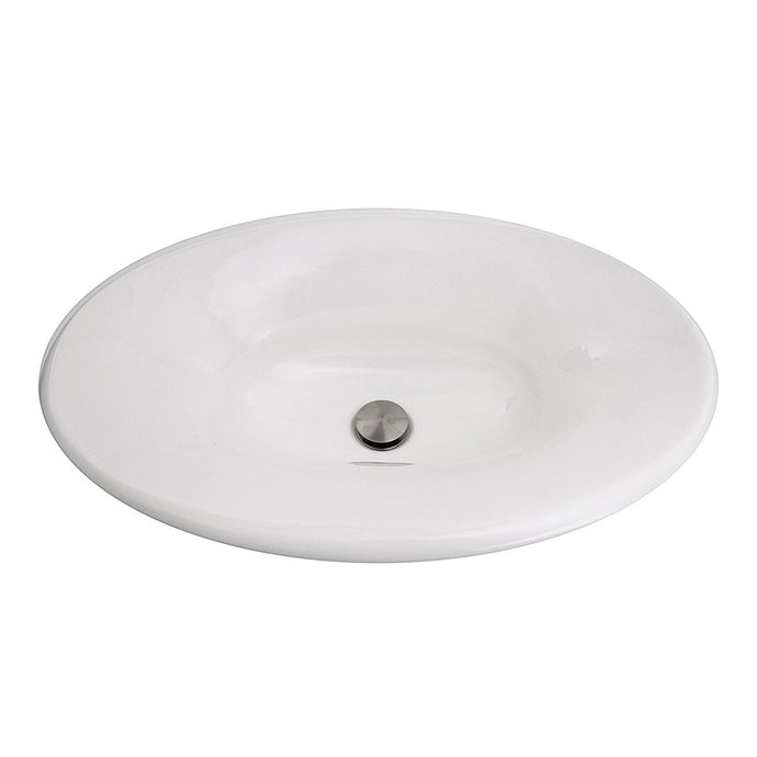 Nantucket Tortola Italian Fireclay Vanity Sink - RC70640W - Manor House Sinks