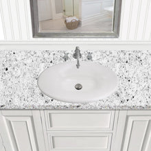 Load image into Gallery viewer, Nantucket Tortola Italian Fireclay Vanity Sink - RC70640W - Manor House Sinks