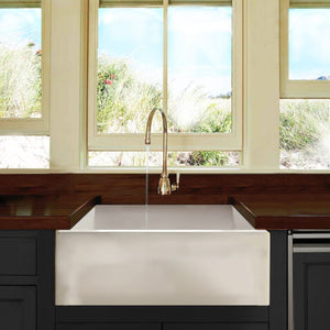 "Nantucket 24"" Farmhouse Apron Sink - Hyannis-24 - Manor House Sinks"