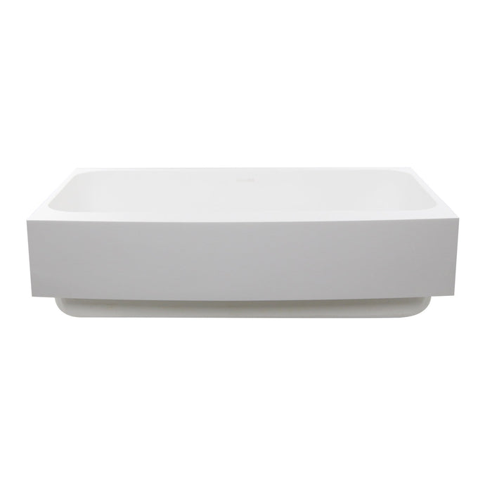 Nantucket Retrofit Glacierstone Single Bowl EZApron Kitchen Sink - NS-GSEZA32S - Manor House Sinks