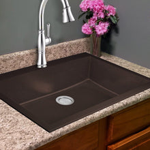 "Load image into Gallery viewer, Nantucket 33"" Dual-mount Granite Composite Sink in Brown - PR3322-DM-BR - Manor House Sinks"