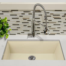 "Load image into Gallery viewer, Nantucket 33"" Undermount Granite Composite Sink in Sand - PR3320-S-UM - Manor House Sinks"