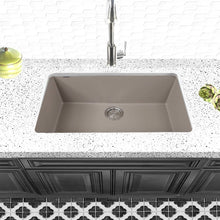 Load image into Gallery viewer, Nantucket Large Single Bowl Undermount Granite Composite Truffle - PR3018-TR - Manor House Sinks