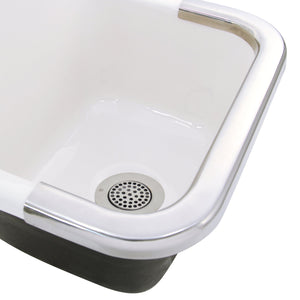 "Nantucket 3"" Utility Sink Grid Drain - 3CHGR - Manor House Sinks"