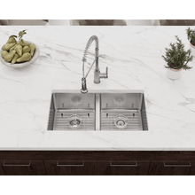 "Load image into Gallery viewer, 31"" 18 Gauge Kitchen Ensemble - PD0213-ENS - Manor House Sinks"