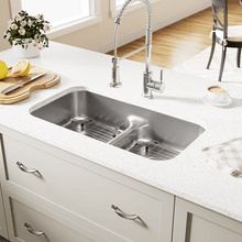 "Load image into Gallery viewer, 32"" 18 Gauge Kitchen Ensemble - P215-18-ENS - Manor House Sinks"