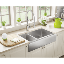 "Load image into Gallery viewer, Polaris 32"" 16 Gauge Kitchen Ensemble - P504-ENS - Manor House Sinks"