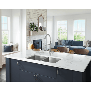 "Polaris 32"" 16 Gauge Kitchen Ensemble - PD2233-ENS - Manor House Sinks"