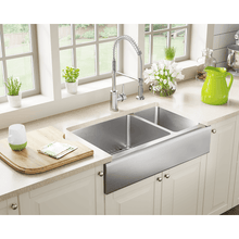 "Load image into Gallery viewer, Polaris 32"" 16 Gauge Kitchen Ensemble - PL704-ENS - Manor House Sinks"