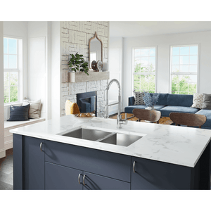 "Polaris 32"" 16 Gauge Kitchen Ensemble - POL2233-ENS - Manor House Sinks"