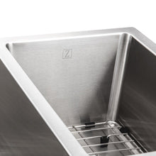 "Load image into Gallery viewer, ZLINE Cortina 33"" Undermount Double Bowl Sink in Stainless Steel (SC70D-33)"
