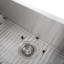 "Load image into Gallery viewer, ZLINE Meribel 33"" Undermount Single Bowl Sink in Stainless Steel (SRS-33)"