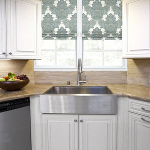 "Nantucket 33"" Pro Series Single Bowl Farmhouse Apron Front Stainless Steel Kitchen Sink - APRON332010-16 - Manor House Sinks"