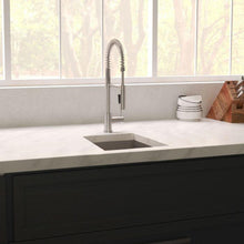 "Load image into Gallery viewer, ZLINE Boreal 15"" Undermount Single Bowl Bar Sink in DuraSnow® Stainless Steel (SUS-15S)"