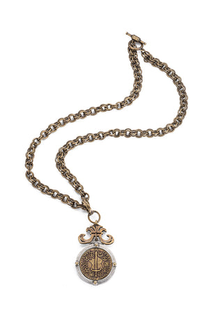 PROVENCE CHAIN WITH DU TERRE MEDALLION