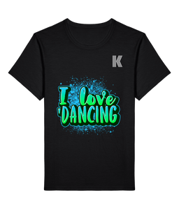 T-shirt I Love Dancing <br> Kutte Industry