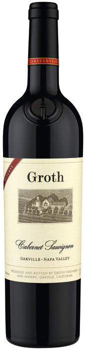 Groth Vineyards Reserve Oakville Napa Cabernet Sauvignon 2015