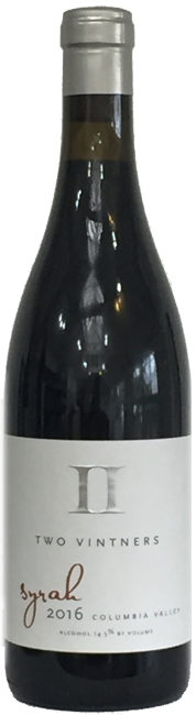 Two Vintners Columbia Valley Syrah 2016