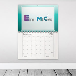 Nerdy Life STEAM Edition 2021 12-Month Wall Calendar for Science, Technology, Engineering, Arts, and Math (with a twist!)