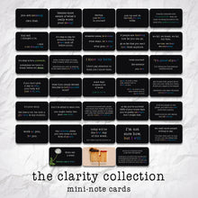 Load image into Gallery viewer, The Clarity Collection Mini-Note Card Set