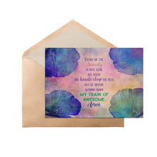 "Load image into Gallery viewer, Grant Me Serenity Funny 5"" x 7"" Oversized Postcard with Kraft Envelopes"