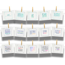 Load image into Gallery viewer, Kind Cards and Encourage Inspire Empower Emerge Postcard Bundle Collections