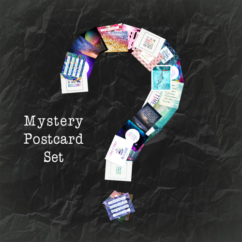 Mystery Postcard Set - 25 postcards per theme!