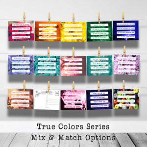 Mix & Match Custom Postcard Collections - Great for Teachers, Coworkers, Friends, and Family to Stay Connected!