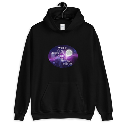 Turn Your Magic On Oval Unisex Hoodie