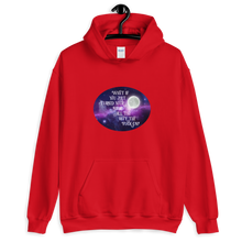 Load image into Gallery viewer, Turn Your Magic On Oval Unisex Hoodie