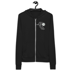 Turn Your Magic On Unisex Zip Hoodie
